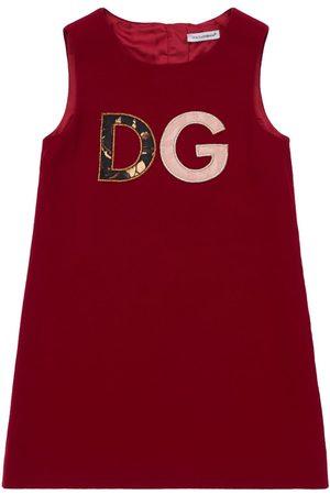 Dolce & Gabbana | Niña Vestido Acampanado De Cady Estampado 8a