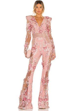Zhivago Won't you try jumpsuit en color rosado talla L en - Pink. Talla L (también en M).