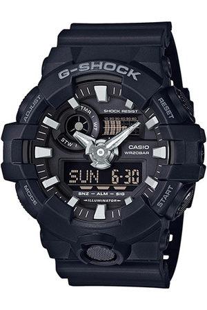Casio Hombre Relojes - Reloj analógico GA-700-1BER, Quartz, 53mm, 20ATM para hombre
