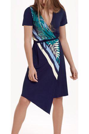 Lisca Mujer Asimétricos - Vestidos Vestido de verano asimétrico manga corta Tahiti para mujer