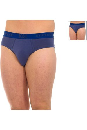 Kisses And Love Hombre Calzoncillos y Boxers - Calzoncillos Pack-2 Slips Kisses Love para hombre
