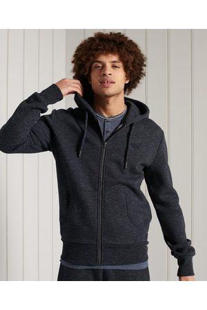 Superdry Hombre Sudaderas - Sudadera clásica con capucha y cremallera de la colección Orange