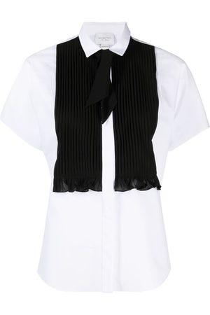 Giambattista Valli Mujer Camisas - Camisa con pliegue frontal
