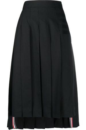Thom Browne Mujer Plisadas - Falda con pliegues