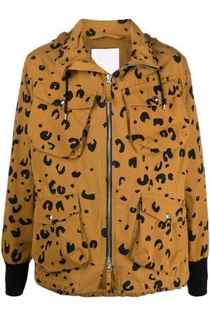 Kenzo Abrigo con motivo de leopardo