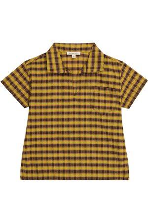 Caramel Camisa Albacore de algodón