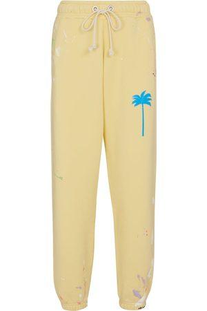 Palm Angels Pantalones de chándal de algodón