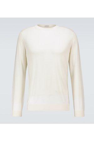 CARUSO Jersey de lana de cuello redondo