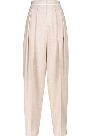 Stella McCartney Pantalones anchos Ariana