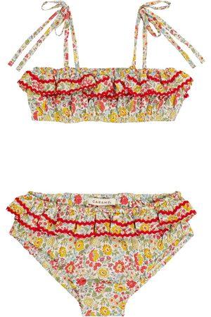 Caramel Bikini Mahi de algodón floral