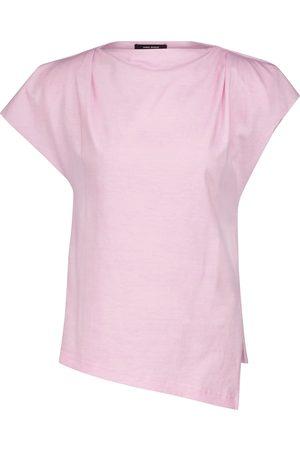 Isabel Marant Camiseta Sebani de algodón