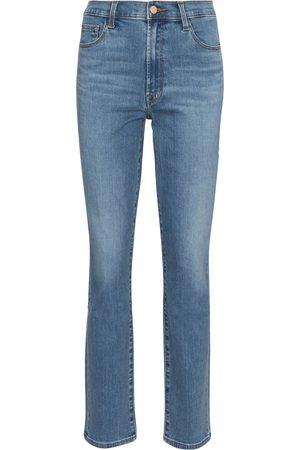J Brand Jeans ajustados Teagan de tiro alto