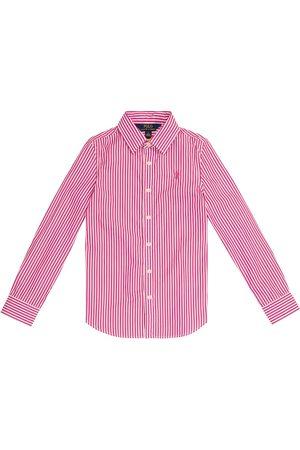 Ralph Lauren Camisa de algodón de rayas