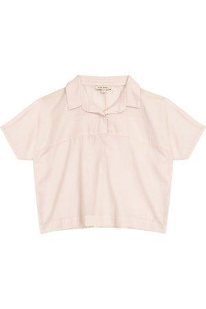 Caramel Blusa Tetra de algodón