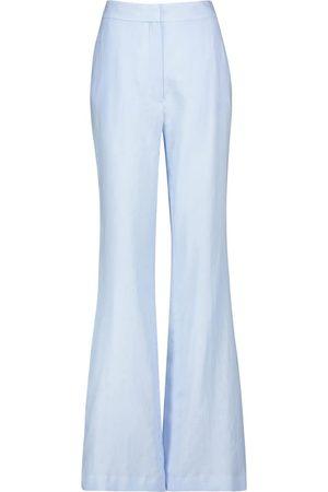 GABRIELA HEARST Pantalones anchos Sonya de lino