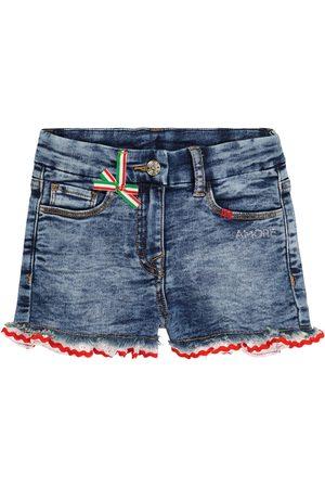 MONNALISA Bebé - shorts de jeans elastizados