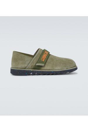 Loewe Slippers de gamuza