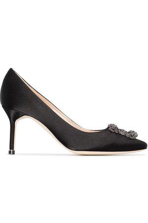 Manolo Blahnik Mujer Tacón - Zapatos Hangisi con tacón de 70mm