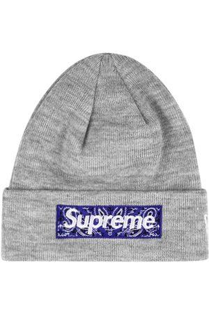 Supreme Gorro con logo cuadrado de x New Era