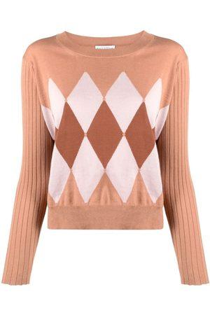BALLANTYNE Mujer Jerséis y suéteres - Jersey de punto de rombos