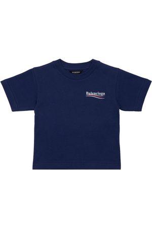 Balenciaga | Niña Camiseta De Algodón Orgánico 8a