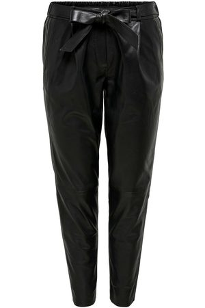 ONLY Mujer Pantalones de cuero - LEATHER TROUSERS