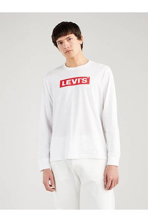 Levi's Hombre Camisetas y Tops - Relaxed Graphic Tee / White