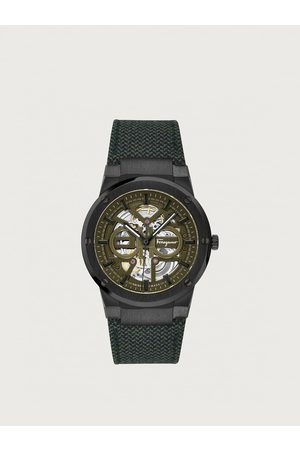 Salvatore Ferragamo Hombre Relojes - Hombre Reloj F-80 Skeleton