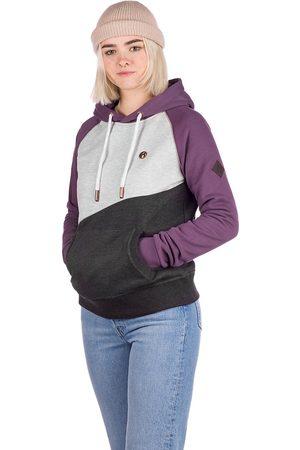 Kazane Gudrin Hoodie violeta