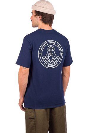 Patagonia Hombre Manga corta - Peak Protector Badge Responsibili T-Shirt