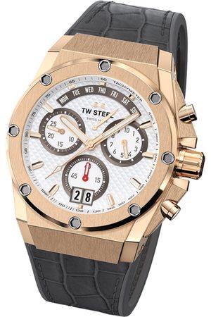 TW steel Reloj analógico ACE112, Quartz, 44mm, 20ATM para hombre