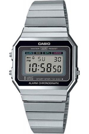 Casio Reloj digital A700WE-1AEF, Quartz, 33mm, 3ATM para hombre