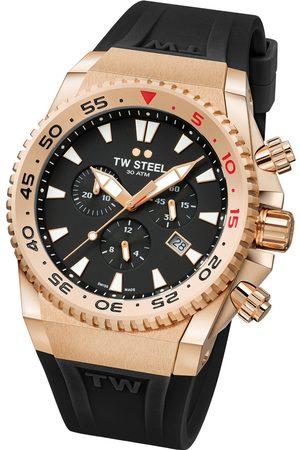Tw-Steel Reloj analógico ACE403, Quartz, 44mm, 30ATM para hombre