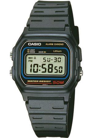 Casio Reloj digital W-59-1VQES, Quartz, 34mm, 5ATM para hombre