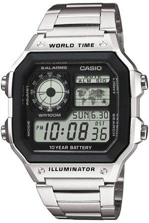 Casio Reloj digital AE-1200WHD-1AVEF, Quartz, 42mm, 10ATM para hombre
