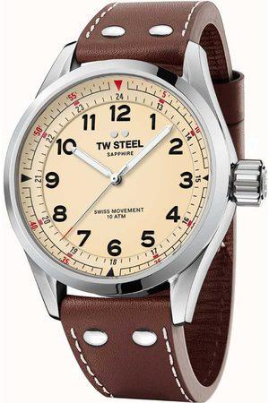 Tw-Steel Reloj analógico SVS101, Quartz, 45mm, 10ATM para hombre