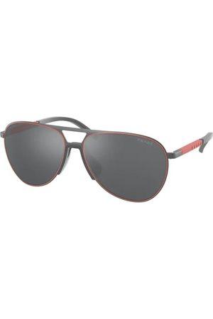 Prada Linea Rossa PS 51XS TWW09L Matte Grey