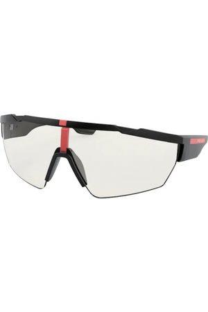 Prada Linea Rossa PS 03XS DG009H Black Rubber