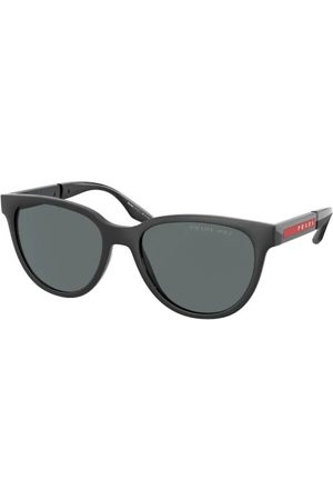 Prada Linea Rossa PS 05XS DG002G Black Rubber/Black