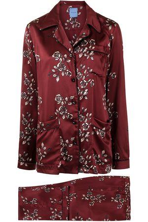 Macgraw Pijama con motivo de rosas