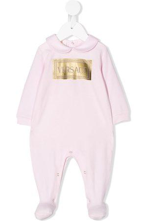 VERSACE Pijama de manga larga con logo