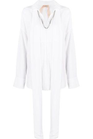 Nº21 Mujer Camisas - Camisa con collar de cadena