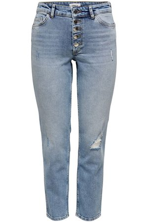 ONLY Mujer Cintura alta - ONLBOBBY LIFE MID ANKLE STRAIGHT FIT JEANS