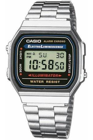 Casio Reloj digital A168WA-1YES, Quartz, 35mm, 3ATM para hombre