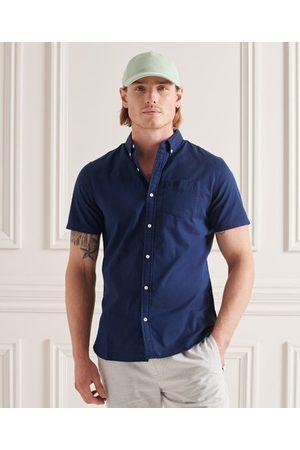 Superdry Hombre Camisas - Camisa de algodón orgánico Premium University Oxford