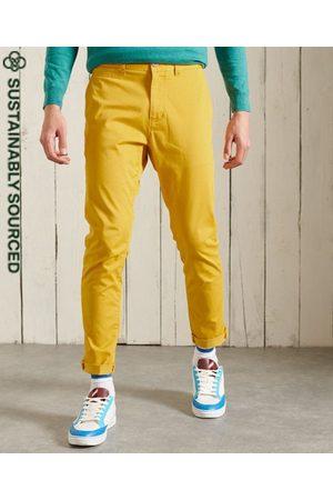 Superdry Pantalones chinos ajustados de algodón orgánico Core