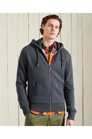 Superdry Sudadera clásica con capucha y cremallera de la colección Orange