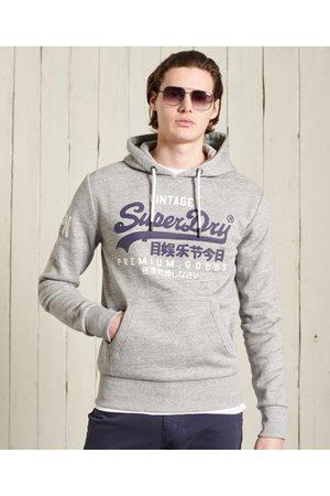 Superdry Hombre Sudaderas - Sudadera con capucha y Vintage Logo