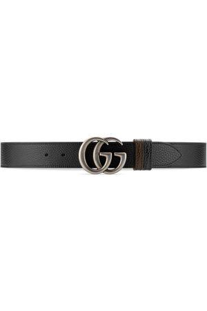 Gucci Hombre Cinturones - Cinturón GG Marmont ancho reversible