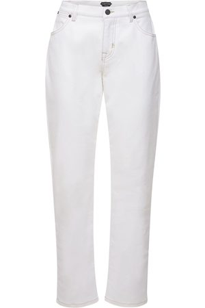 Tom Ford | Mujer Jeans Boyfriend De Denim De Algodón Stretch 25